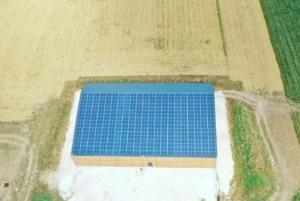 Panneaux photovoltaïques agricoles 100kWc GRE 3