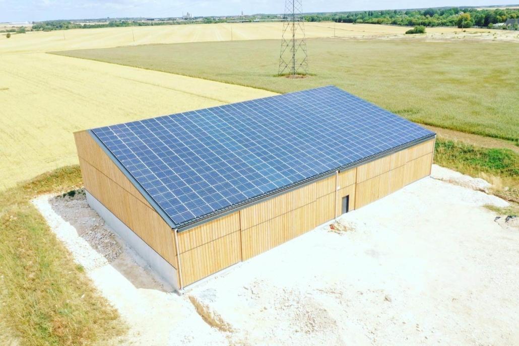 Panneaux photovoltaïques agricoles 100kWc GRE 4