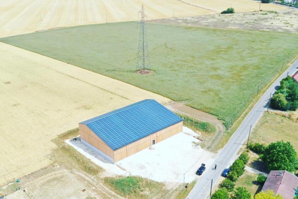 Panneaux photovoltaïques 100kWc exploitation agricole 5