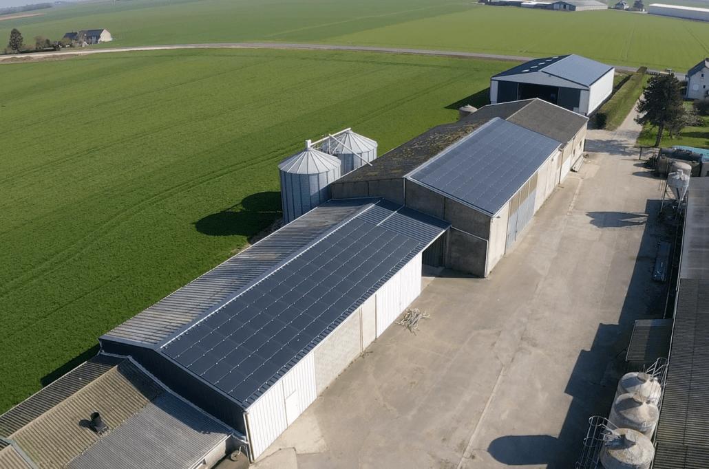 Panneaux photovoltaïques 100kWc + 11kWc exploitation agricole 45170 2
