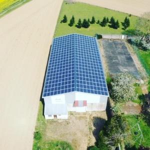 Panneaux photovoltaïques agricole 100kWc GRE