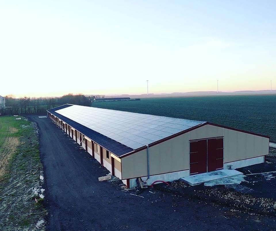 Panneaux photovoltaïques 100kWc exploitation agricole 28300 5
