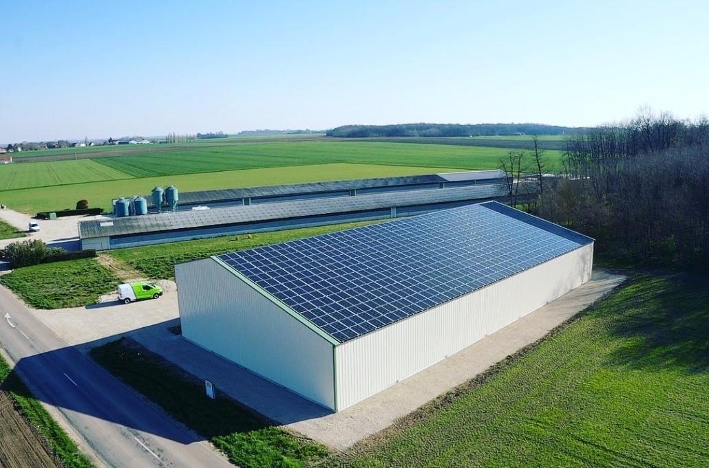 Panneaux photovoltaïques 100kWc exploitation agricole 45340 1