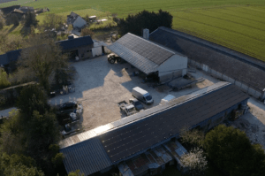 Panneaux photovoltaïques 100kWc + 12kWc exploitation agricole 45300 1