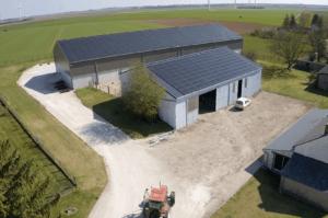 Panneaux photovoltaïques 100kWc + 36kWc exploitation agricole 45480 4