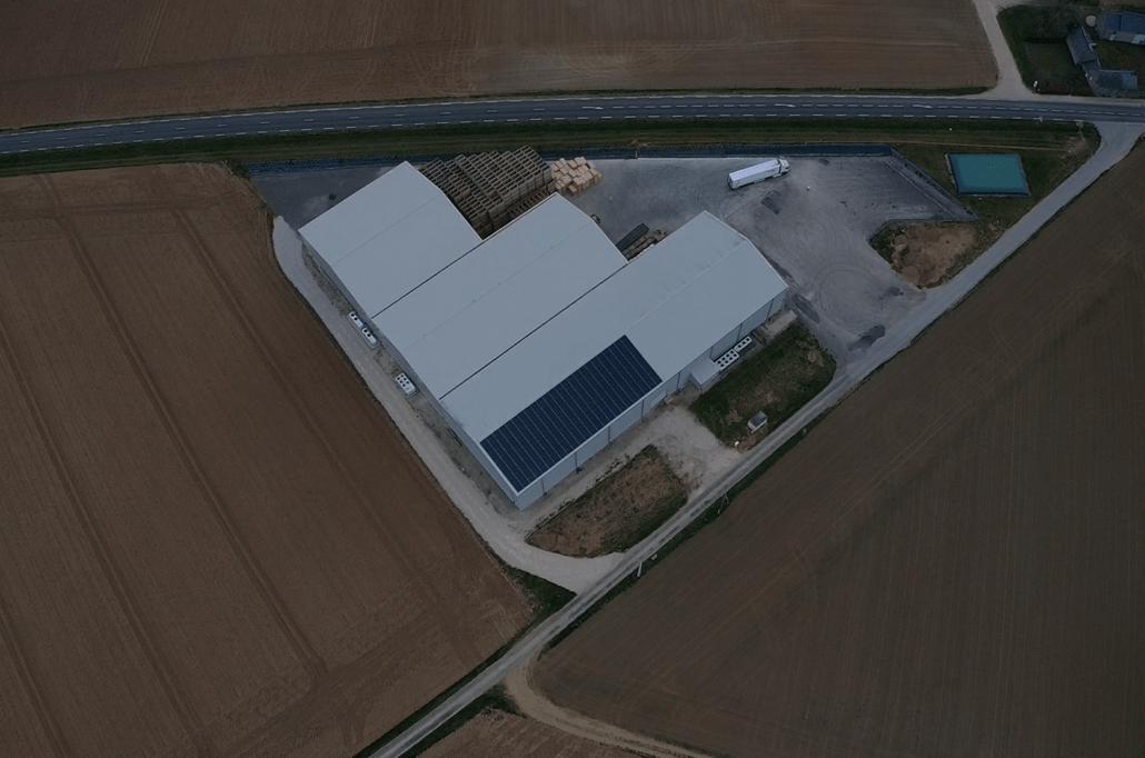 Panneaux photovoltaïques 100kWc exploitation agricole 28200 1