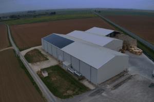 Panneaux photovoltaïques 100kWc exploitation agricole 28200 3