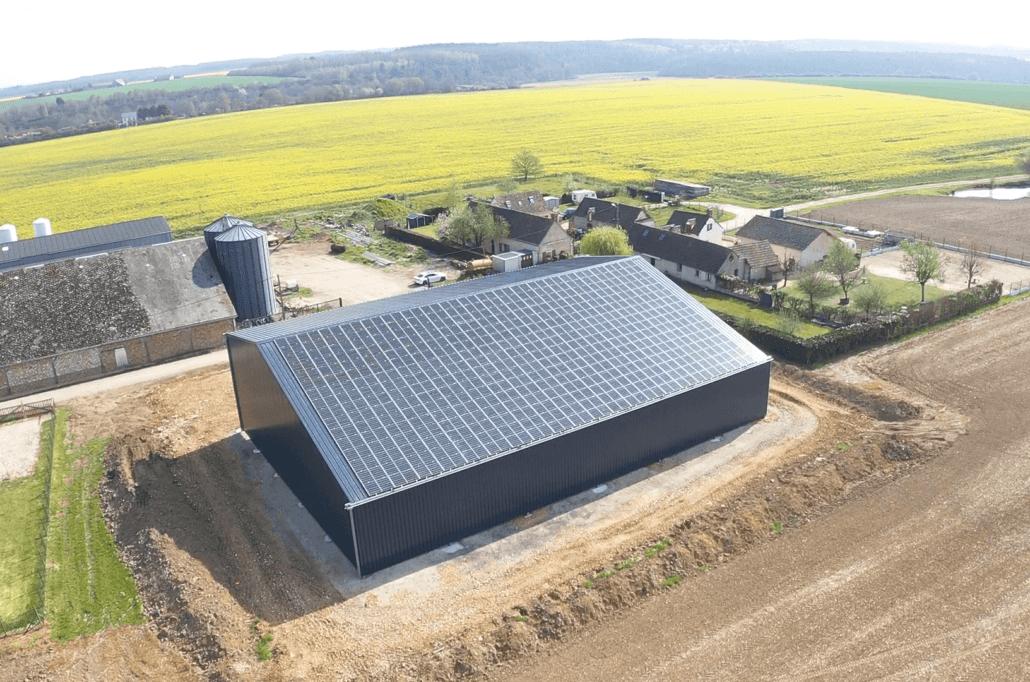 Panneaux photovoltaïques 100kWc exploitation agricole 28500 1