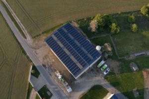 Panneaux photovoltaïques 100kWc exploitation agricole 45300 1