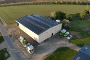 Panneaux photovoltaïques 100kWc exploitation agricole 45300 3