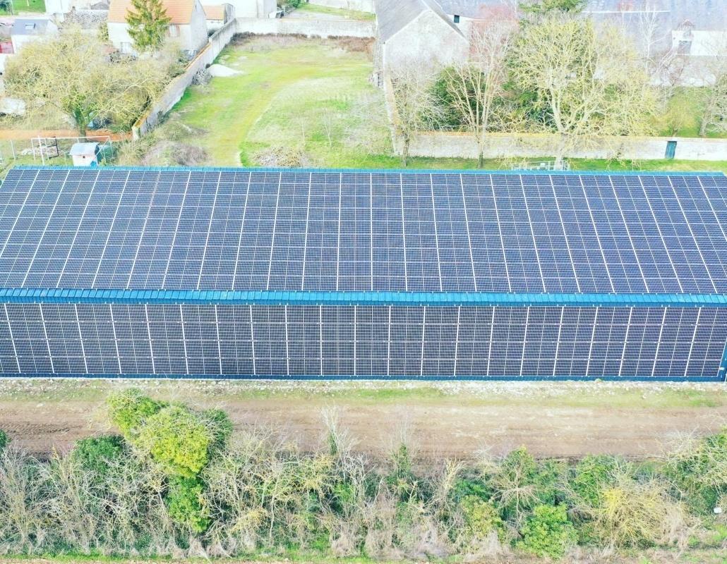 Panneaux photovoltaïques industriel 100kWc GRE 1