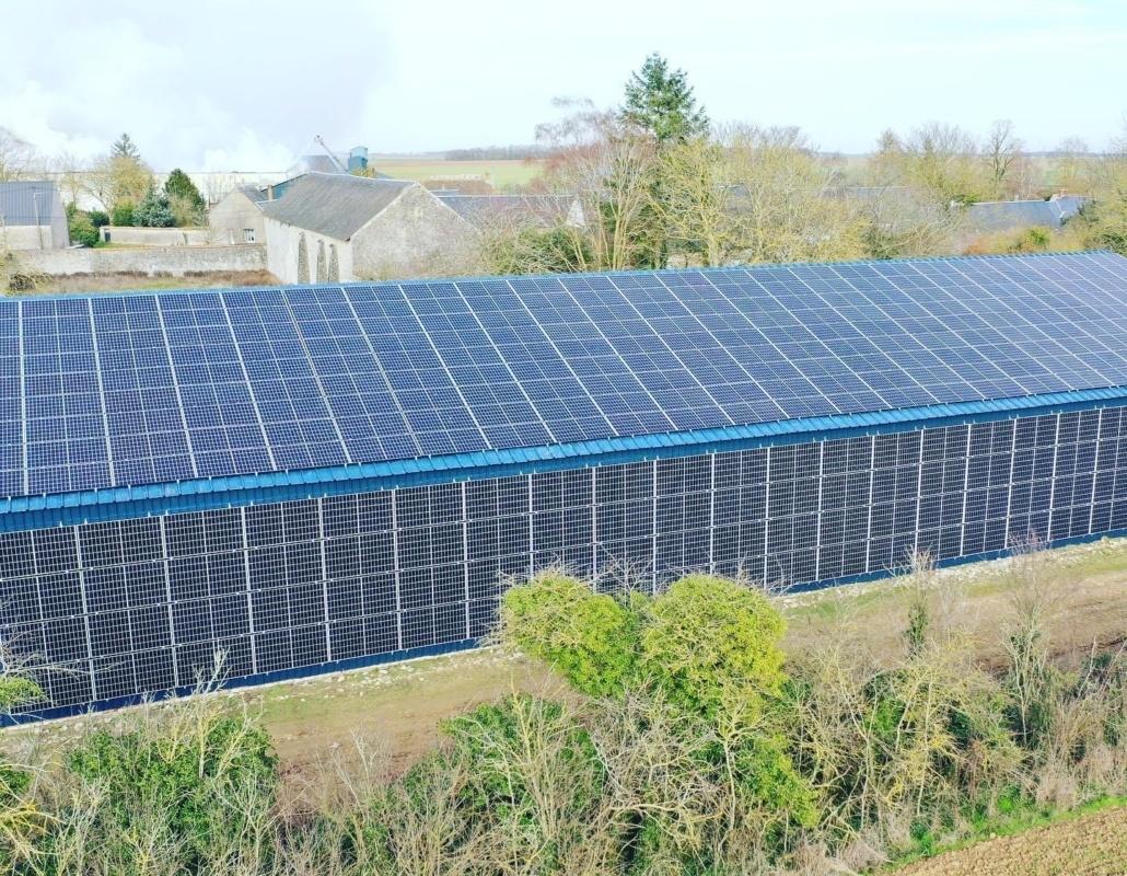 Panneaux photovoltaïques industriel 100kWc GRE 2