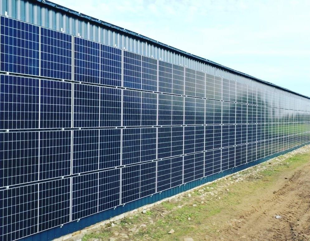 Panneaux photovoltaïques industriel 100kWc GRE 3