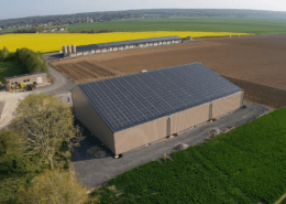 Panneaux photovoltaïques 100kWc exploitation agricole 28300 1