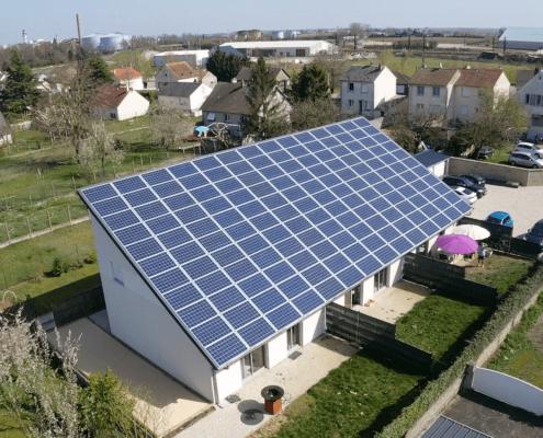 Panneaux photovoltaïques immobilier 36kWc GRE 1