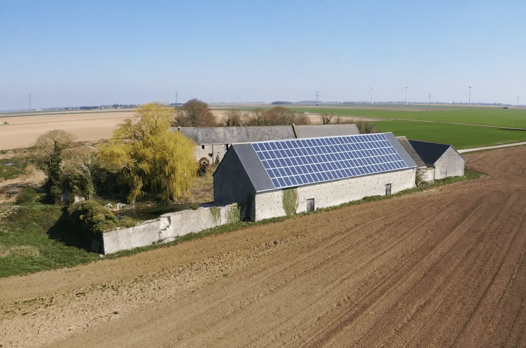 Panneaux photovoltaïques agricole 36kWc GRE 1