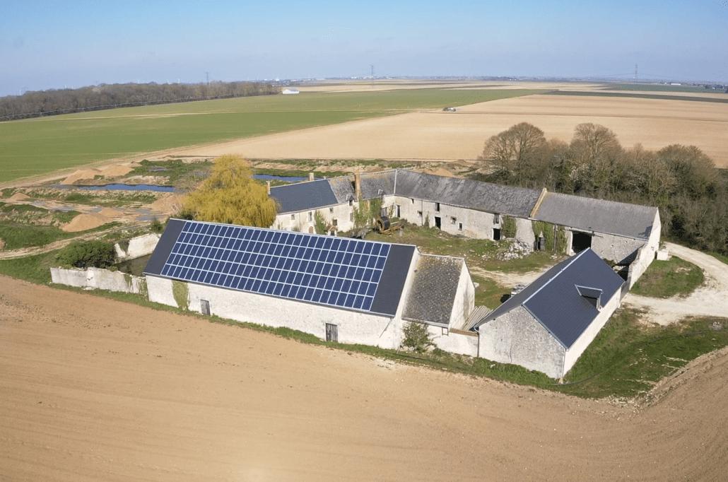 Panneaux photovoltaïques agricole 36kWc GRE 3