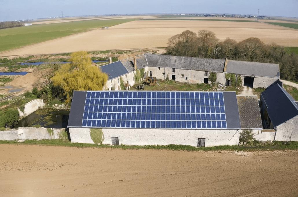 Panneaux photovoltaïques agricole 36kWc GRE 4