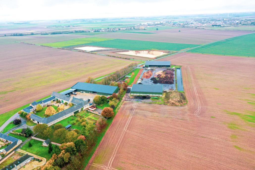 Panneaux photovoltaïques 750kWc exploitation agricole 28150 2