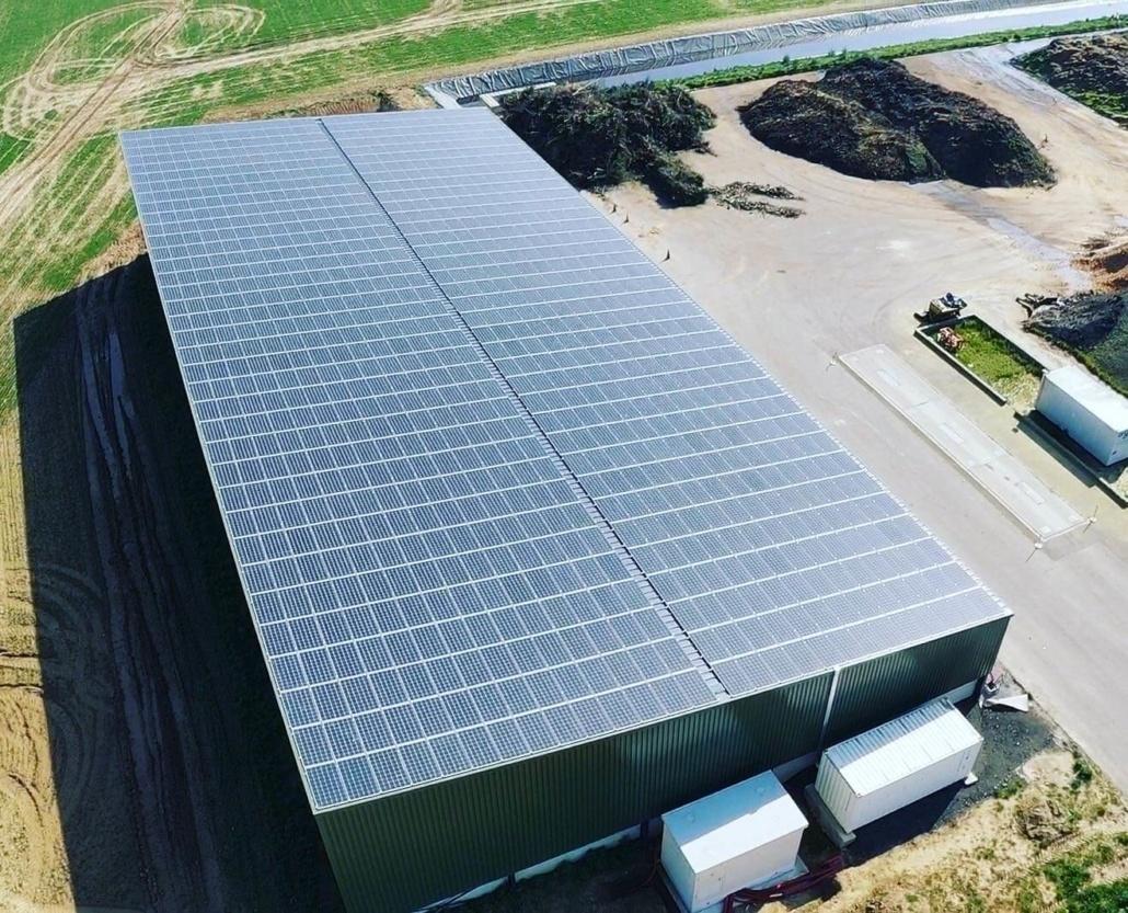 Panneaux photovoltaïques 750kWc exploitation agricole 28150 3