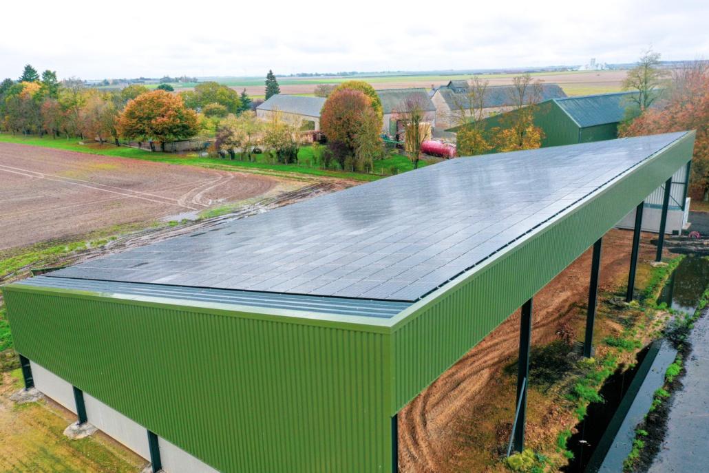 Panneaux photovoltaïques 750kWc exploitation agricole 28150 4
