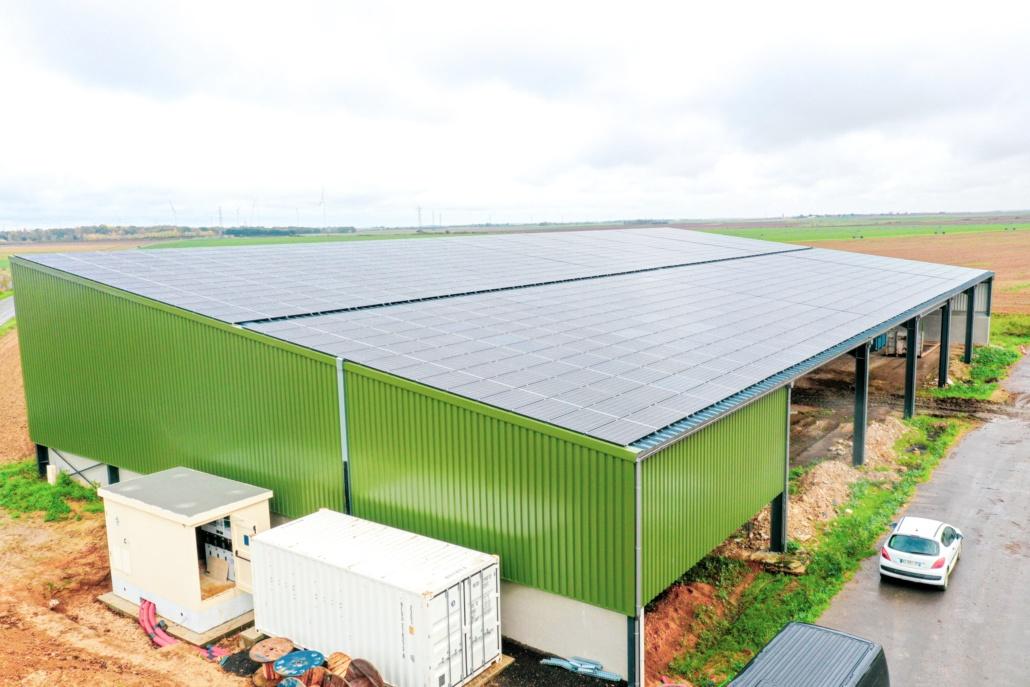 Panneaux photovoltaïques 750kWc exploitation agricole 28150 5