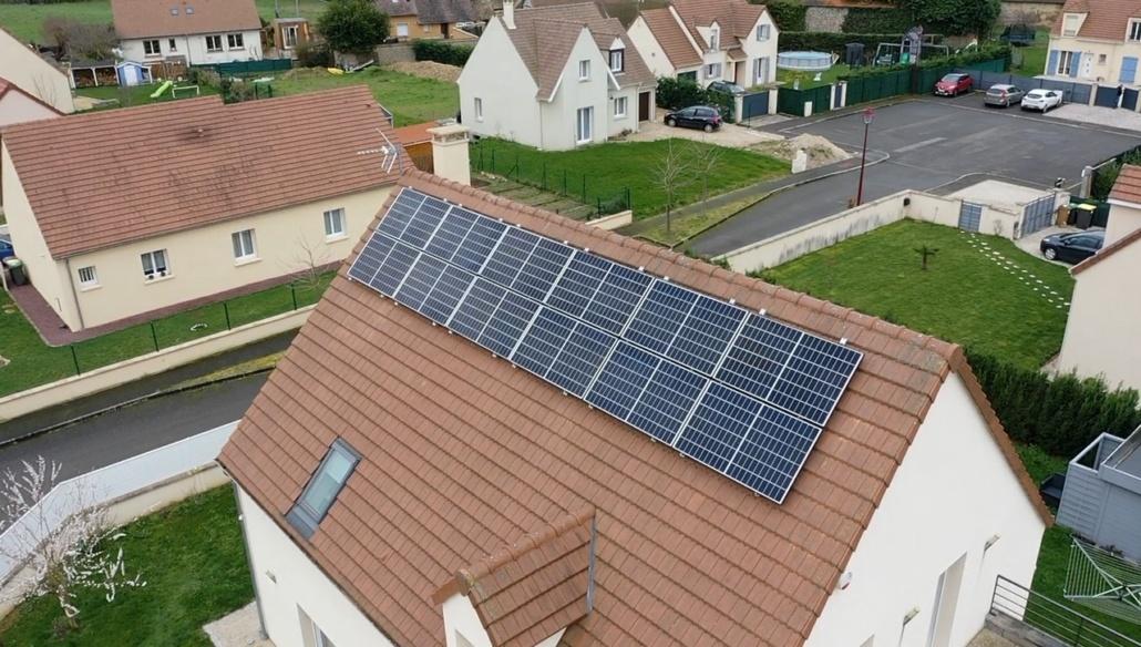 Panneaux photovoltaïques particulier 7kWc Eure-et-Loir GRE 1