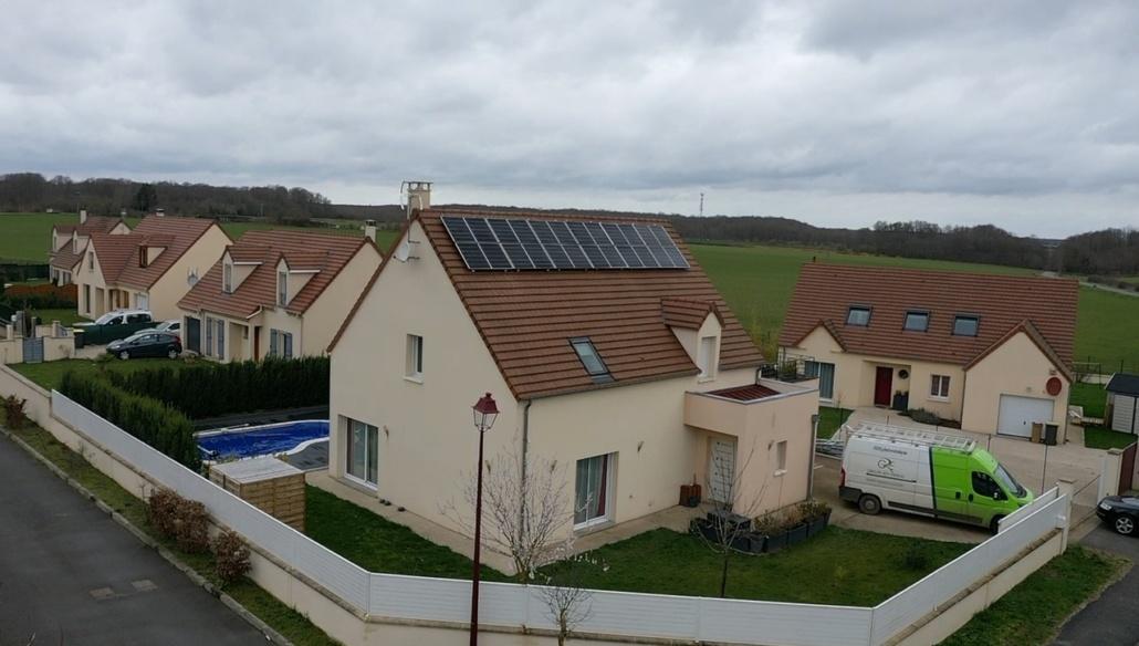Panneaux photovoltaïques particulier 7kWc Eure-et-Loir GRE 2