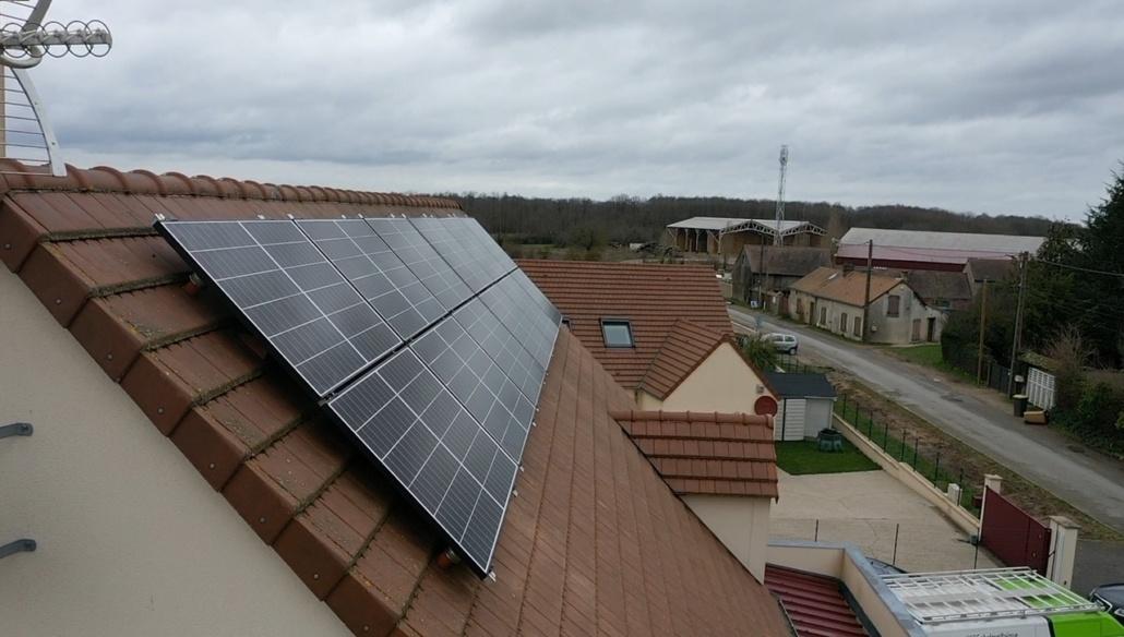 Panneaux photovoltaïques particulier 7kWc Eure-et-Loir GRE 3