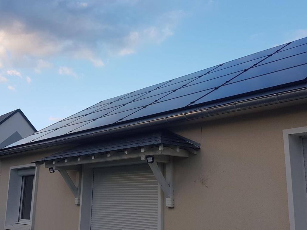 Panneaux photovoltaïques particulier 9kWc Loiret GRE 4