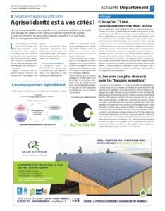 L'Exploitant Agricole de Saône-et-Loire avril 2020 Groupe Roy Énergie