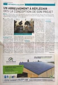 Revue Agricole de l'Aube mars 2020 article Groupe Roy Énergie