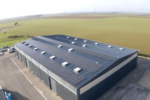 Panneaux photovoltaïques industriel 120kWc 28310 Groupe Roy Énergie 2