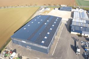 Panneaux photovoltaïques industriel 120kWc 28310 Groupe Roy Énergie 3