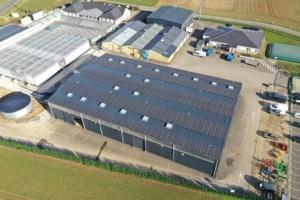 bâtiment industriel en Eure-et-Loir équipé de photovoltaïque