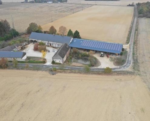 Groupe Roy Énergie, fournisseur de panneaux photovoltaïques agricoles