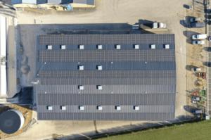 Groupe Roy Énergie, installation de panneaux photovoltaïques industriels