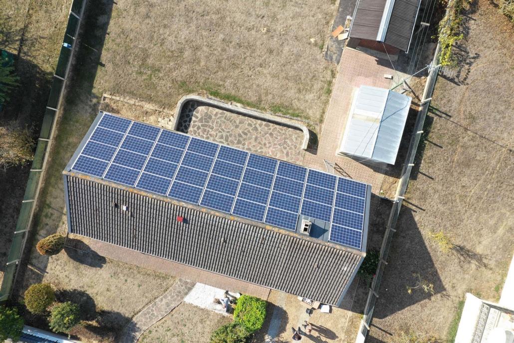 Panneaux photovoltaïques particulier 9kWc GRE 2