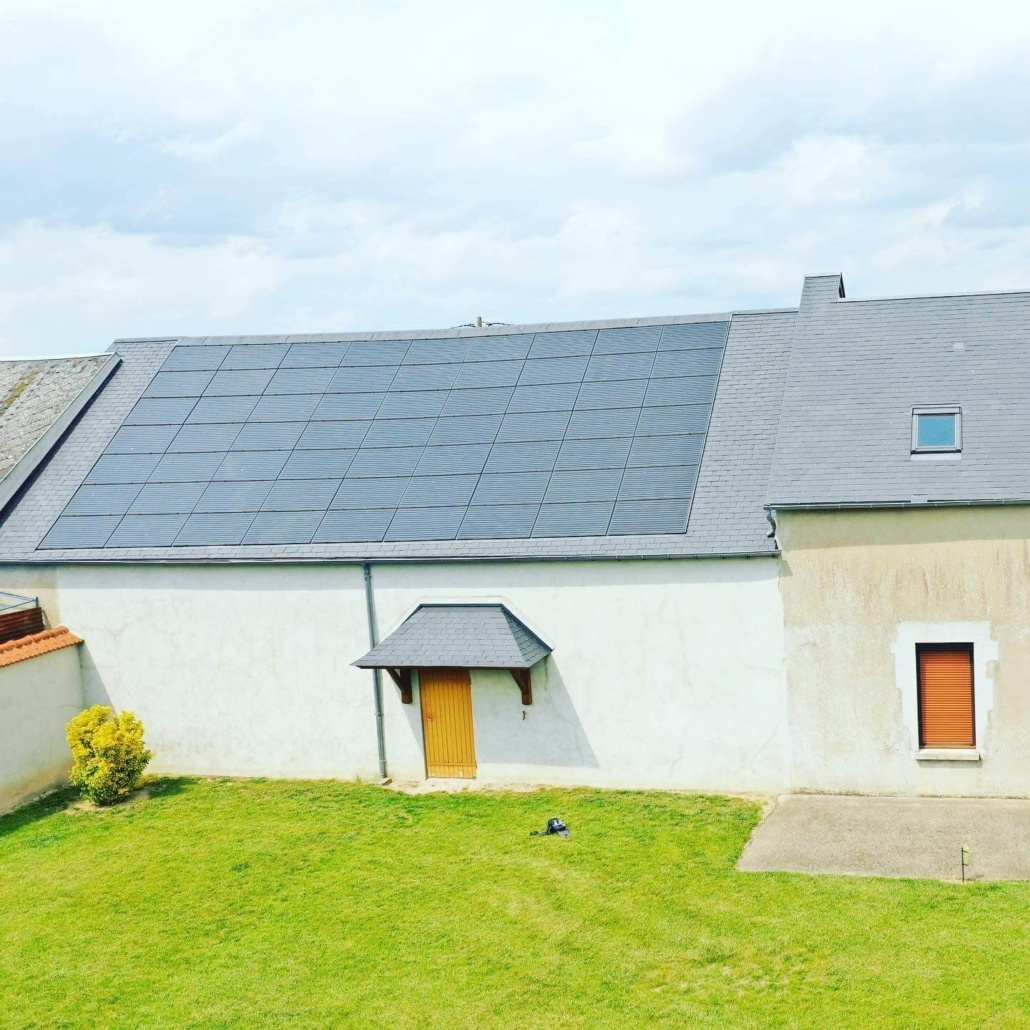 Panneaux photovoltaïques particulier 9kWc GRE 4