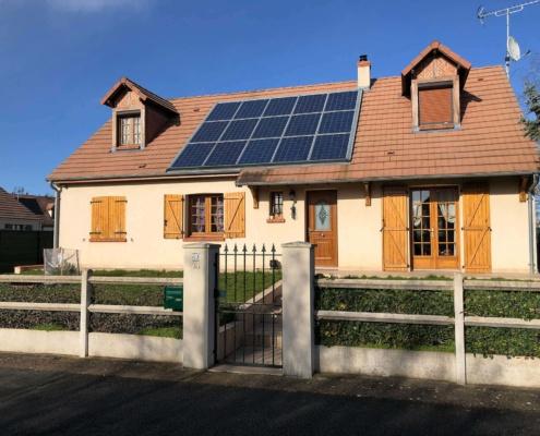 Panneaux photovoltaïques particulier 3kWc GRE 1
