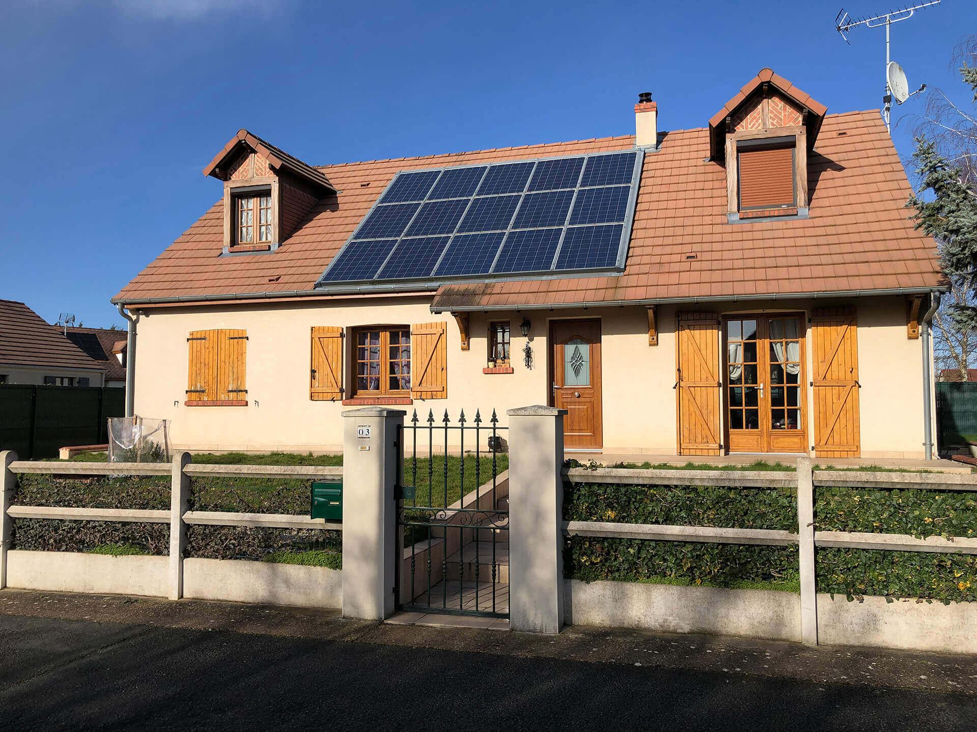 fin TRV électricité photovoltaïque