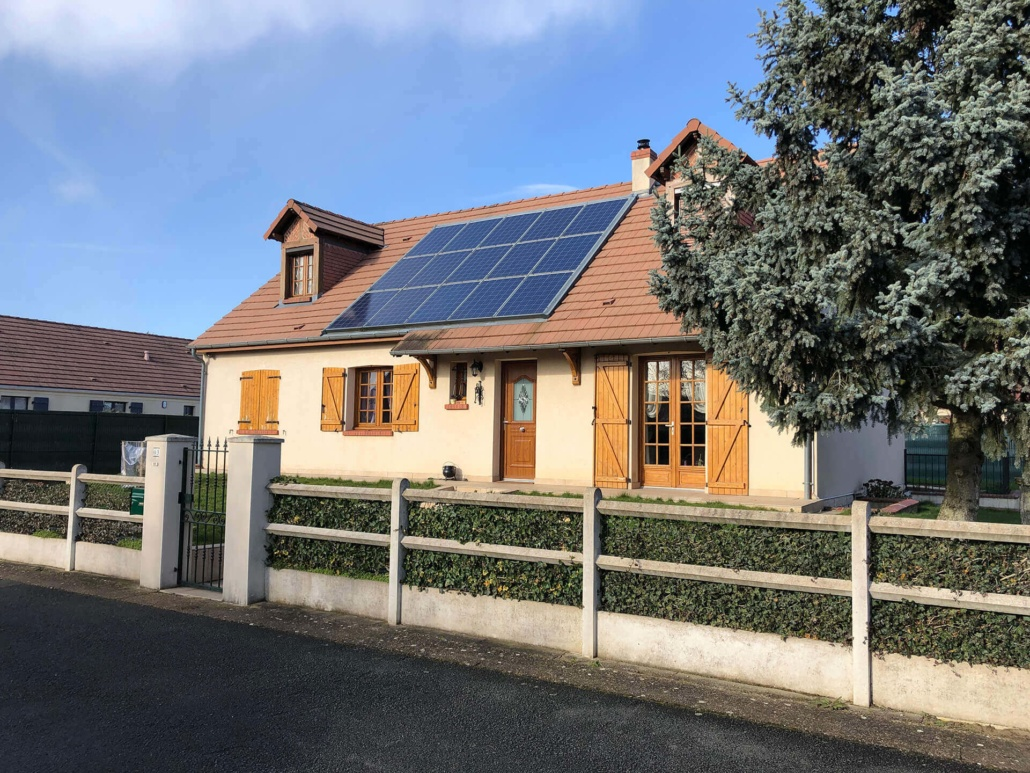 Panneaux photovoltaïques particulier 3kWc GRE 2