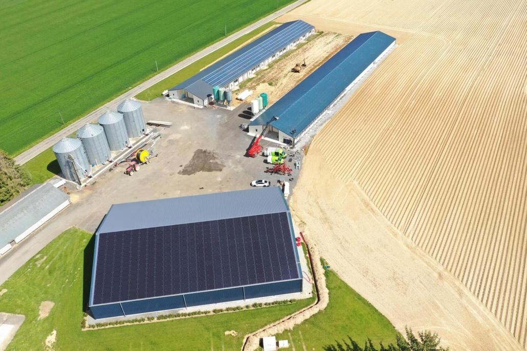 Panneaux photovoltaïques agricole GRE 330 kWc 28190 4