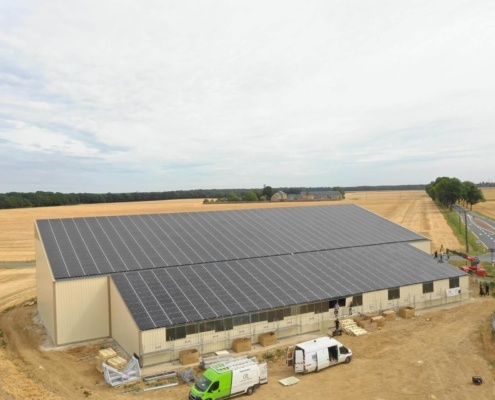 Panneaux photovoltaïques GRE 330kWc exploitation agricole 91140 1