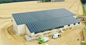 Panneaux photovoltaïques GRE 330kWc exploitation agricole 91140 2
