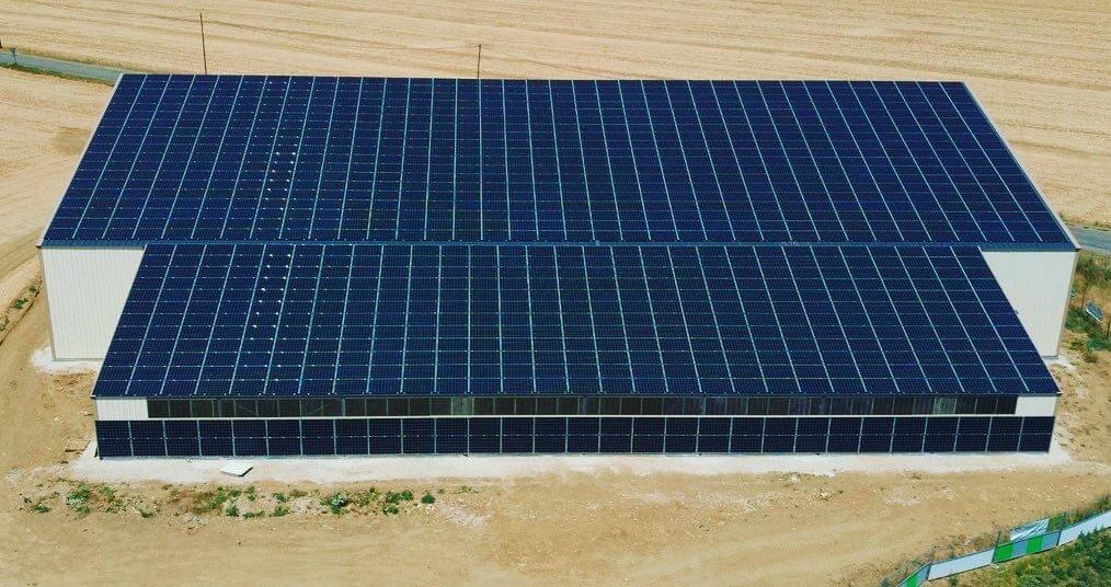 Panneaux photovoltaïques GRE 330kWc exploitation agricole 91140 3