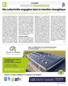 L'Epicentre avril 2020 article Groupe Roy Énergie