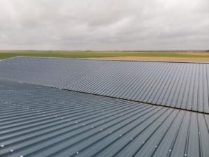 Panneau photovoltaïque du Groupe Roy Énergie