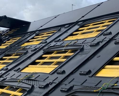 Installation panneaux photovoltaïques Groupe Roy Énergie