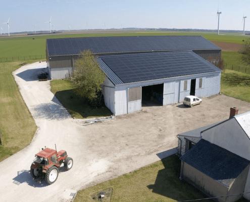 bâtiment agricole photovoltaïque